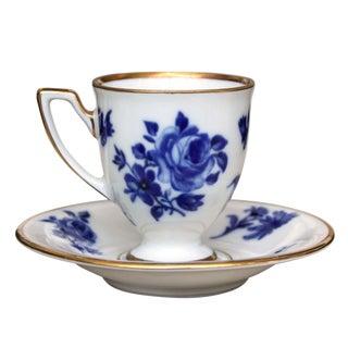 Vintage Baravia Tea Cup & Saucer For Sale