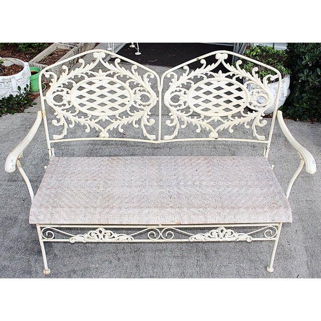 Folding Cast Iron Bench - Image 3 of 6