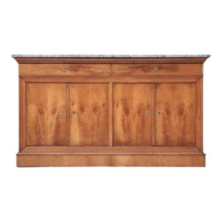 Antique French Louis Philippe Cherry Buffet For Sale