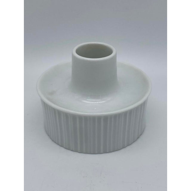 Rosenthal Tapio Wirkkala for Rosenthal Porcelain Candle Holders For Sale - Image 4 of 7