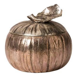 "Italian Metal ""Gourd"" Ice Bucket"
