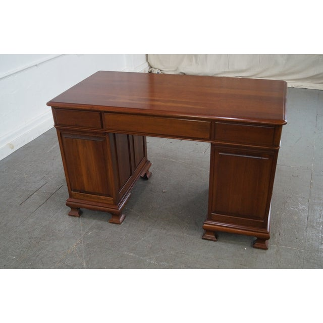 Pennsylvania House Solid Cherry Chippendale Desk Image 2 Of 10