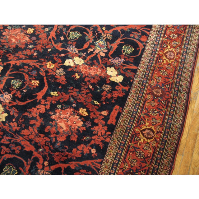 """Late 19th Century Antique Bijar Persian Rug 9'3"""" X 20'3"""" For Sale - Image 5 of 7"""