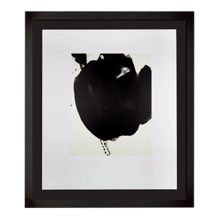 Robert Motherwell Lithograph Original Ltd Ed + Cat. Ref. B387.7 With Gallery Frame For Sale