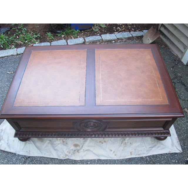 This listing is for a Morley Coffee Table made by Ethan Allen INC. This piece is in excellent condition like new. Handsome...