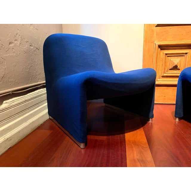 Metal 1970s Vintage Giancarlo Piretti Alky Chairs- A Pair For Sale - Image 7 of 13