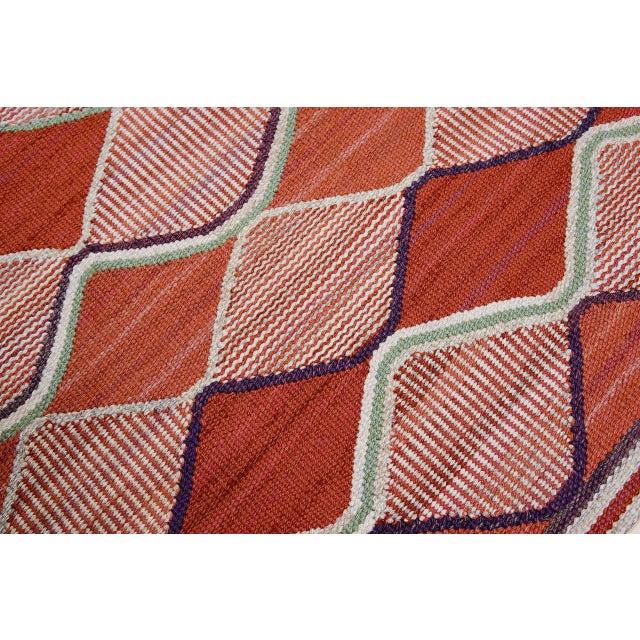 Vintage Barbro Nilsson Flat-Weave Swedish Carpet for Marta Maas-Fjetterström - Image 5 of 10