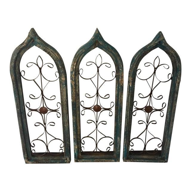 Antique Window Frames - Set of 3 - Image 1 of 6