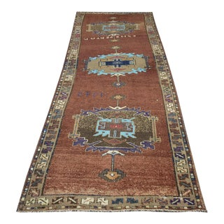 Vintage Turkish Runner - 2'9″x7'7″