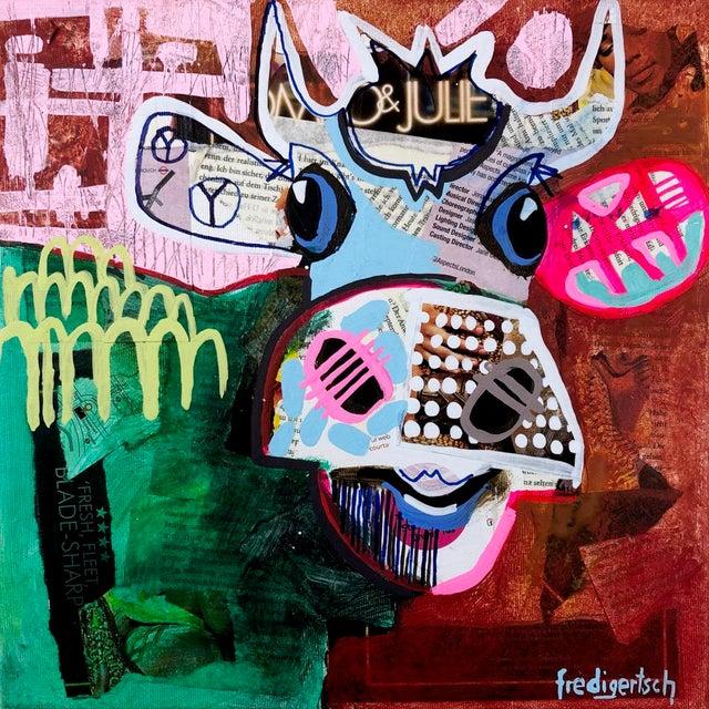 """""""Oh Julie"""" Original Artwork by Fredi Gertsch For Sale - Image 9 of 9"""