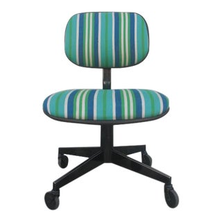 Steelcase Reupholstered Swiveling Task Chair For Sale
