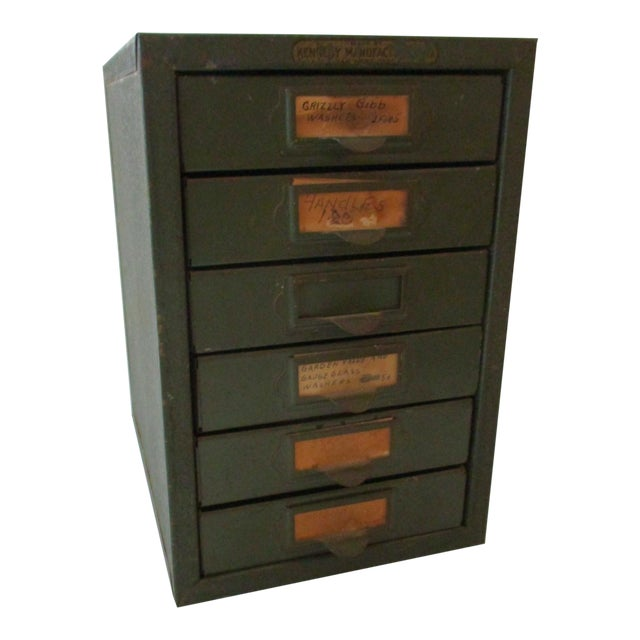 Industrial Metal Tool Chest Kennedy Vintage Drawers Cabinet For Sale