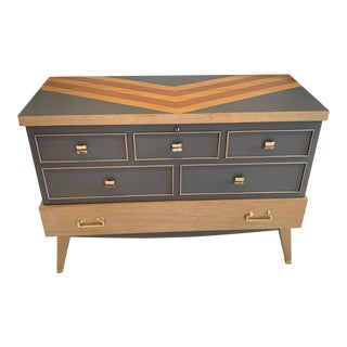 1950s Mid Century Modern Cedar Chest Storage For Sale
