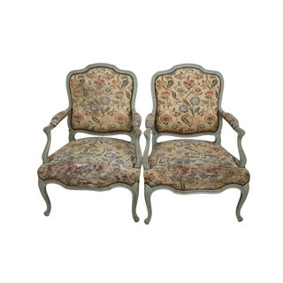 19th Century French Louis XV Chairs - A Pair For Sale