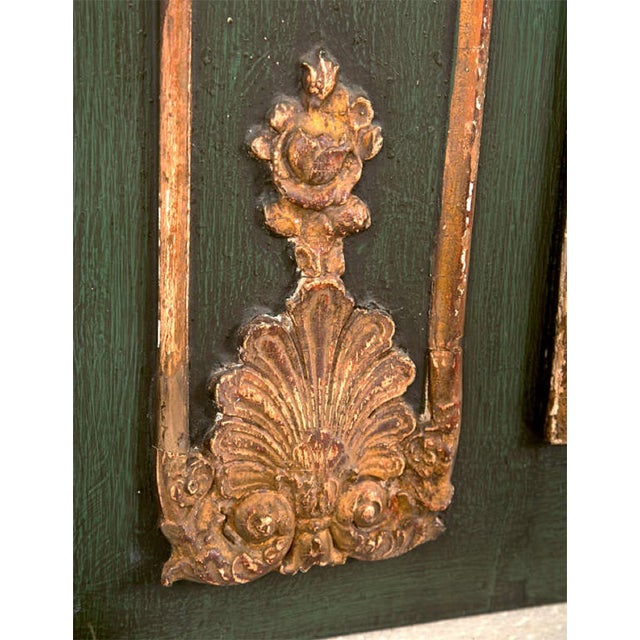 French Painted Trumeau Mirror - Image 4 of 8