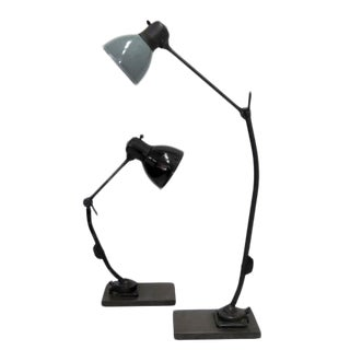 Marianne Brandt for Kandem Steel Task Lamps For Sale