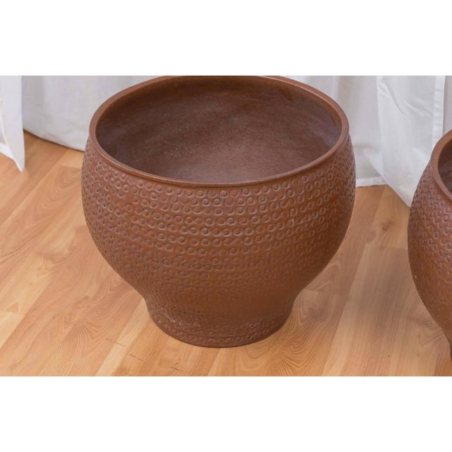 Mid-Century Modern David Cressey for Architectural Pottery Cheerio Planter For Sale - Image 3 of 7