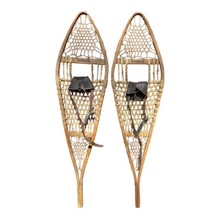 1910s 'The Tubbs' Snowshoes - a Pair For Sale