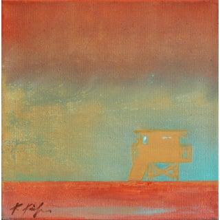 "Kathleen Keifer ""Glass Glint Tower"" Original Painting For Sale"