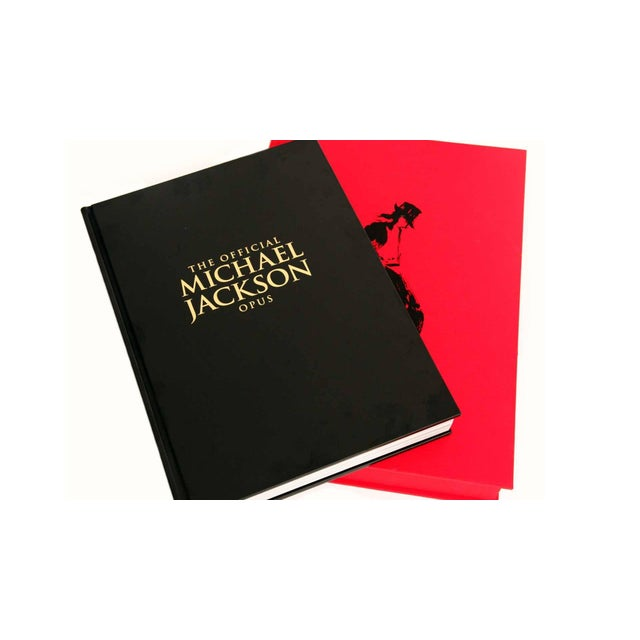 Michael Jackson Opus Large Collector Table Book For Sale - Image 10 of 11