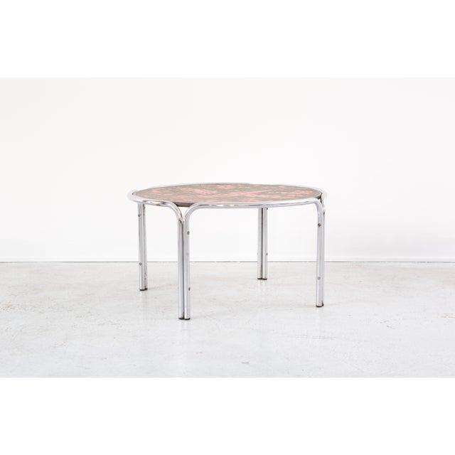 Mid-Century Cocktail Table Attributed to Roger Capron For Sale In Chicago - Image 6 of 7