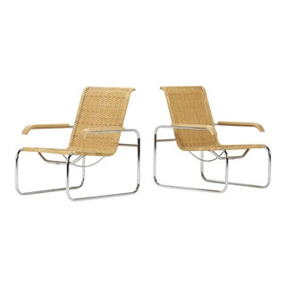 Vintage Marcel Breuer B35 Chairs - a Pair For Sale
