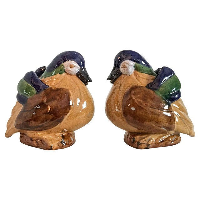 Chinese Duck Figurines - A Pair - Image 1 of 6