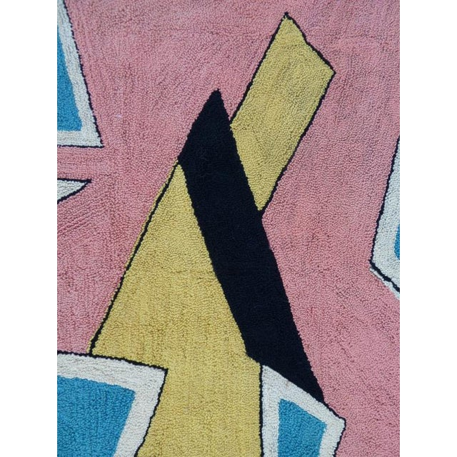 Playful Abstract Tapestry By Miripolsky - Image 3 of 7