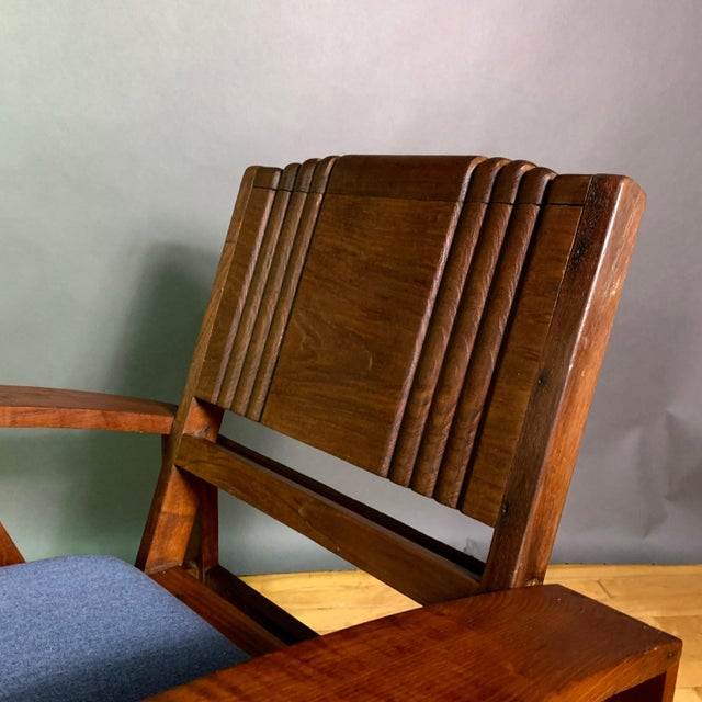 1930s Solid Teak Veranda Chair, Danish Colonial Indonesia For Sale - Image 9 of 11