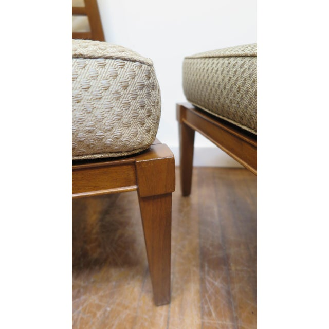 French Mid century Chairs in the Style of Andre Arbus For Sale In New York - Image 6 of 9