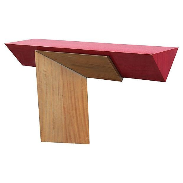 Floating Memphis-Style Console - Image 3 of 7