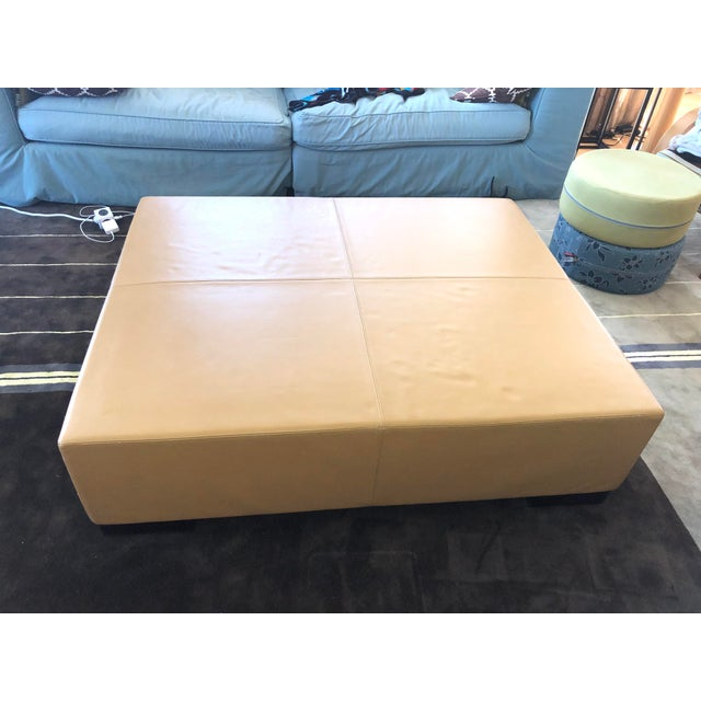 2000 - 2009 Modern Holly Hunt's Christian Liaigre Galet Ottoman For Sale - Image 5 of 10