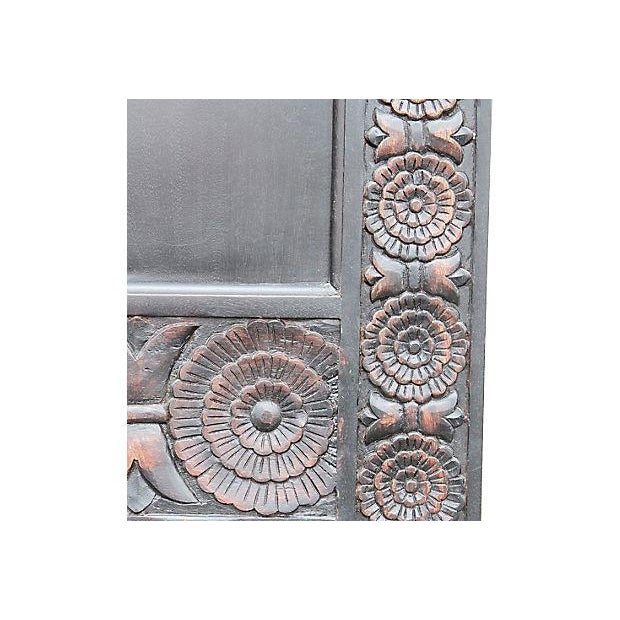 Carved Mahogany Finished Door - Image 4 of 5