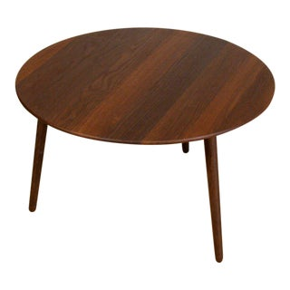 Via Cph Smoked Oak 27d Side Table