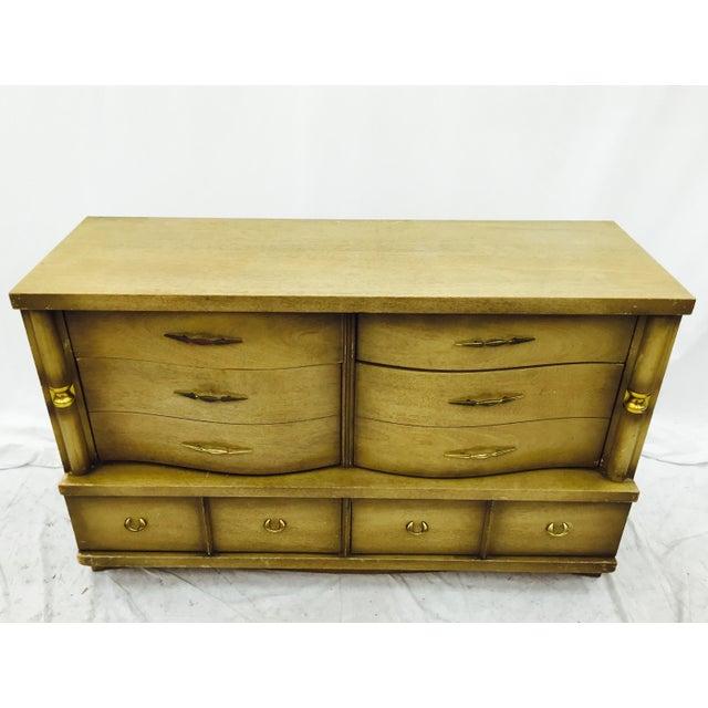 Bassett Bassett Furniture Mid-Century Dresser For Sale - Image 4 of 11