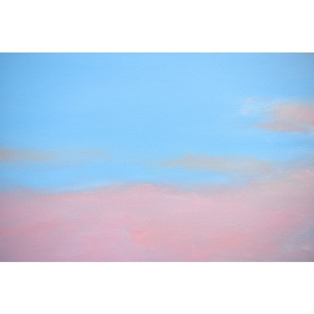 """Stephen Remick Stephen Remick """"Morning Clouds"""" Contemporary Painting For Sale - Image 4 of 10"""