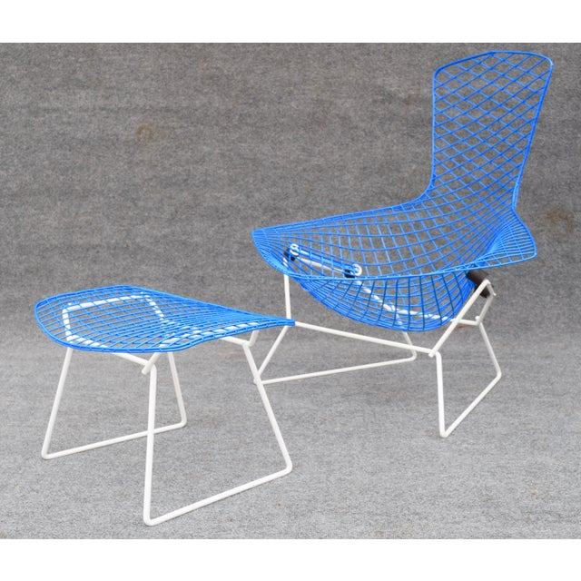 "Mid-Century Modern ""Bird"" Chair & Ottoman For Sale In San Diego - Image 6 of 10"
