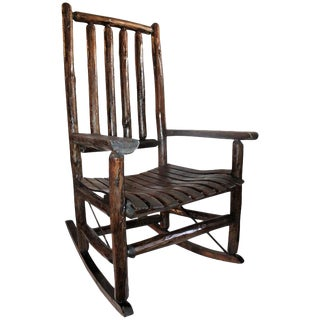 Old Hickory Porch Rocking Chair For Sale