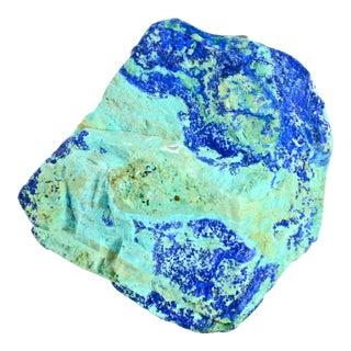 Natural Aqua-Blue Azurite Gemstone