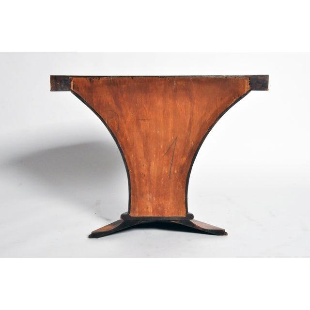 Art Deco Art Deco Pedestal Console Table For Sale - Image 3 of 11