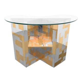 1960s Paul Evans Studio for Directional Cityscape Drinks Bar For Sale
