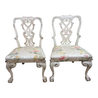 English Country House Chairs - A Pair For Sale