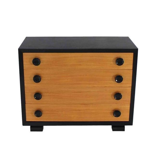 Very nice Mid-Century Modern Art Deco style two-tone dresser.