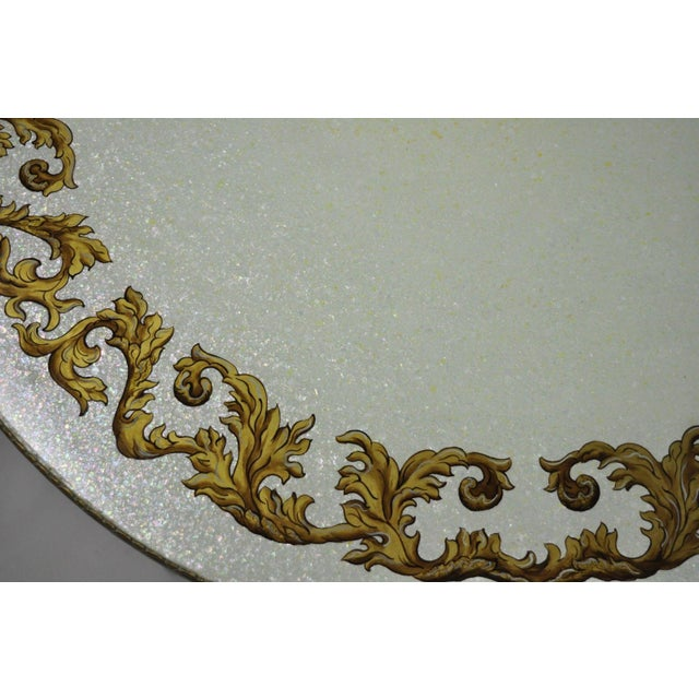 Vintage Mid-Century French Rococo Style Coffee Table For Sale - Image 10 of 12