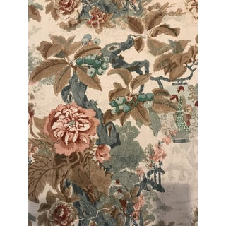 Chinese Lantern Browns by Lee Jofa Designer - 10 Continuous Yards of Fabric For Sale