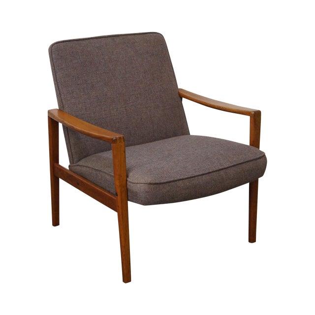 Mid-Century Teak Arm Chair - Image 1 of 10
