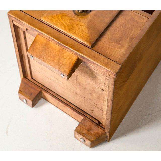 Maple Wood Nightstands - a Pair - Image 9 of 9