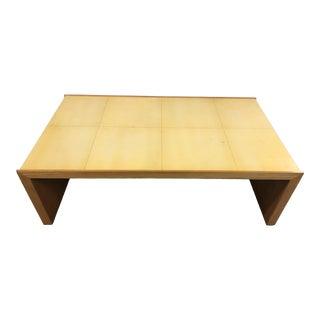 "Contemporary Roman Thomas ""Plateau"" Coffee Table For Sale"