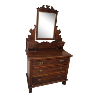 1960s Vintage Lady's Vanity/Dressing Table For Sale