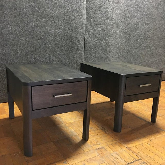 Scandinavian Designs Harald End Tables - Pair - Image 2 of 11